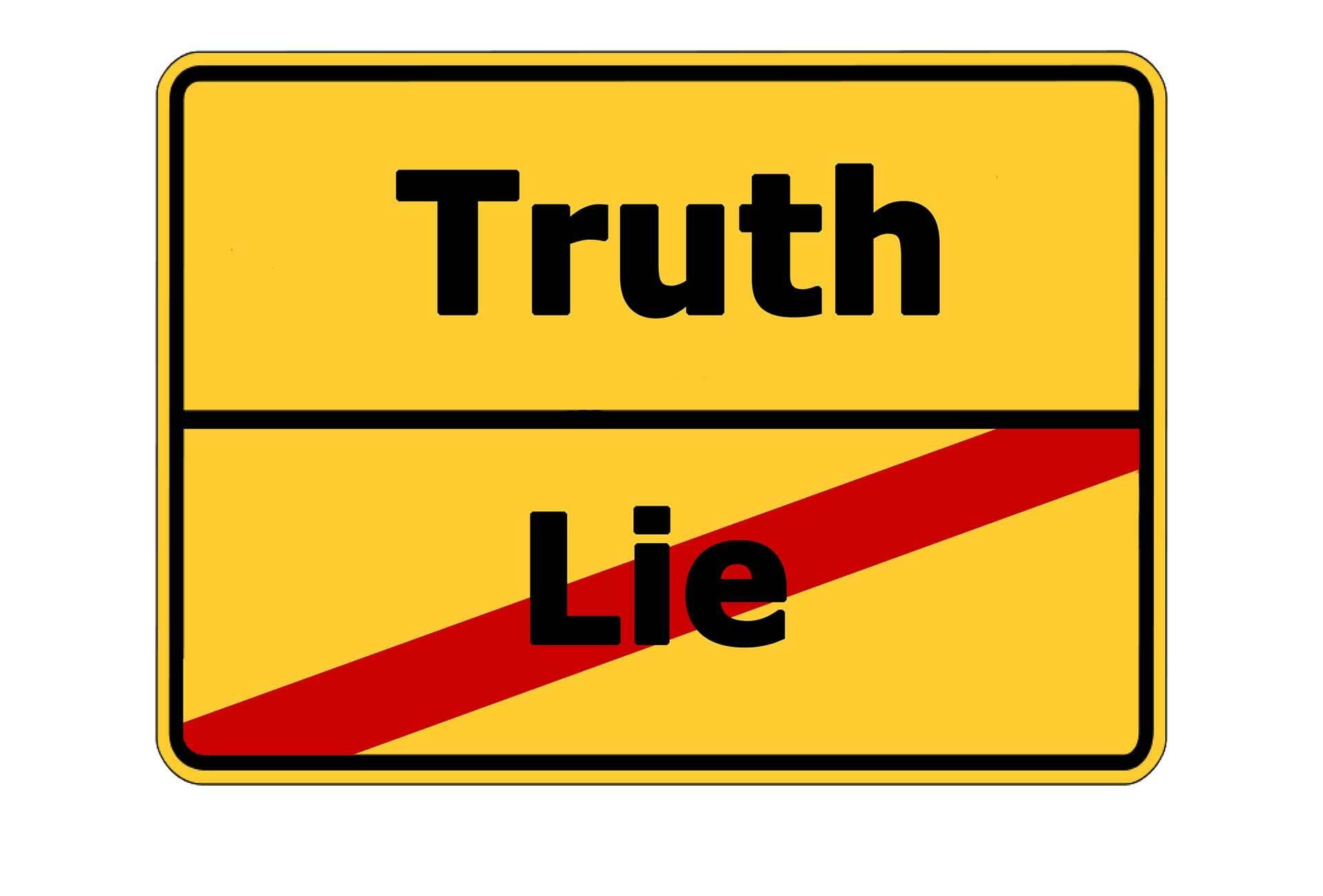 Zwei kennen immer die Wahrheit