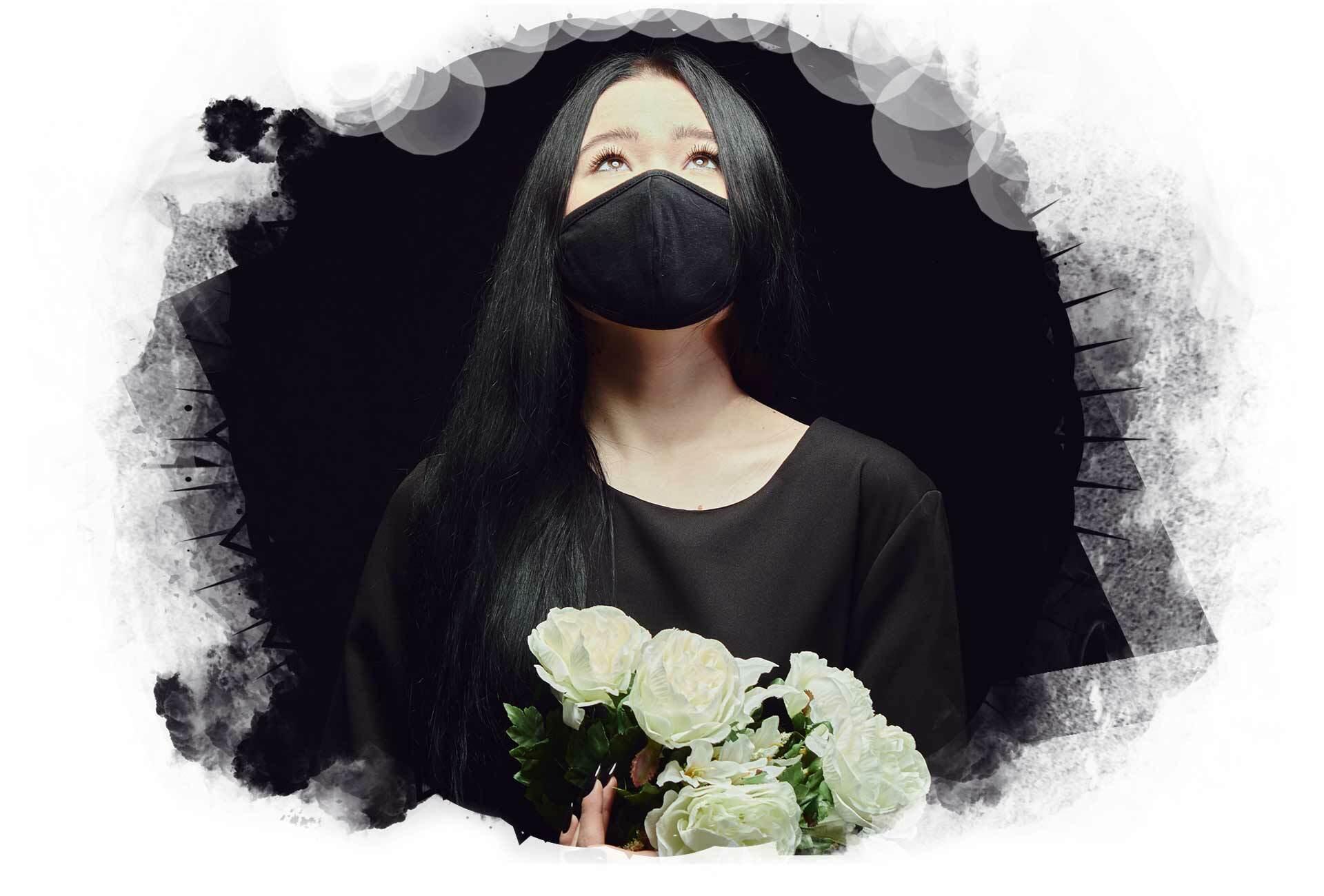 Dunkelheit und Masken