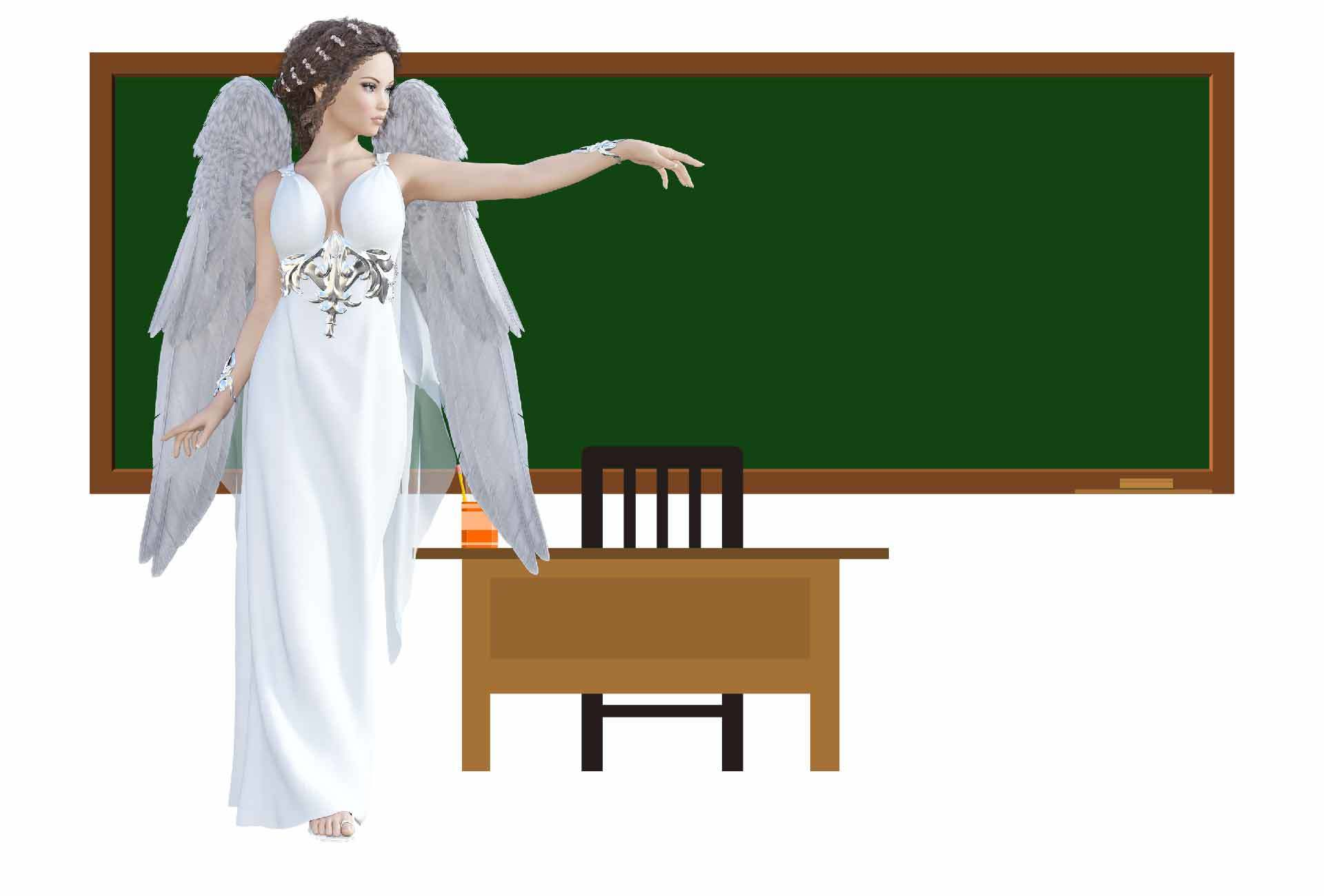 Verliebt in Lehrerin
