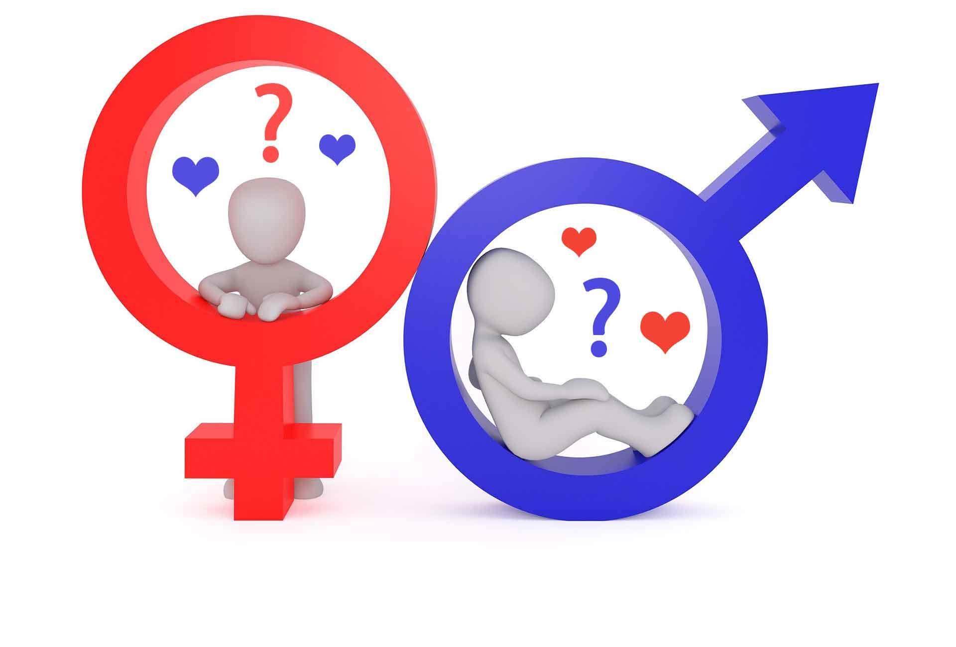 Welches Geschlecht liebe ich?