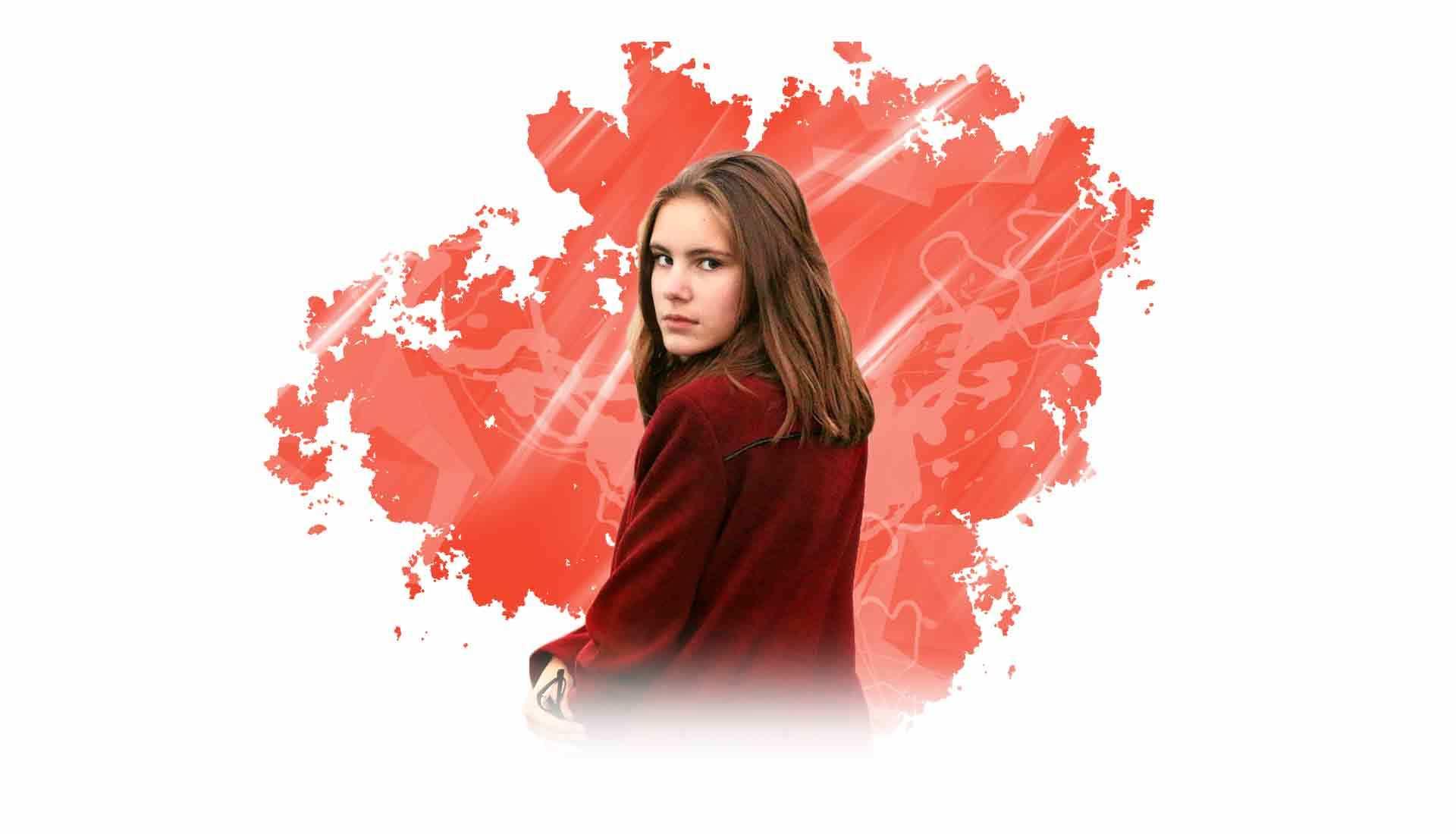 Mädchen mit dem roten Mantel